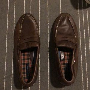 Tommy Hilfiger brown shoes
